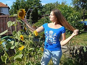 Tričká - prázdniny v záhrade II - 9690669_