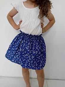 Sukne - Detská folk sukňa - 9692215_