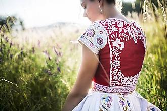 Iné oblečenie - Zľava -50%Vyšívaná vesta Slavianka - 9689447_