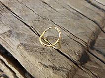 Prstene - Prstienok ovál hrubší - 9689999_