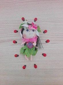 Dekorácie - Vílenka Kvetinka - 9690632_