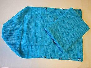 Textil - Detská pletená deka - 9692299_