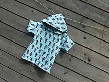 Detské oblečenie - Tričko s kapucňou - 9692553_