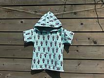 Detské oblečenie - Tričko s kapucňou - 9692554_