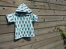 Detské oblečenie - Tričko s kapucňou - 9692556_