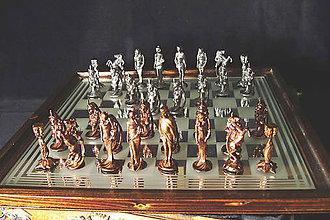 Sochy - Secesní šachové figúry - malé - 9691745_
