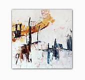 Obrazy - abstraktný obraz, Town II, 70x70 (na objednávku) - 9691196_