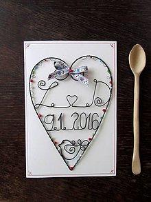 Papiernictvo - Veľká pohľadnica *21,5 cm (Biela) - 9691677_