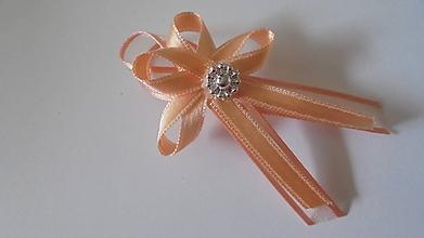 Pierka - Svadobné pierka  pre hostí (Oranžová) - 9690328_