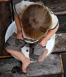 Detské oblečenie - mimi-kraťasy/husy - 9693264_