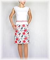 Sukne - Sukně růže vz.539 - 9694685_