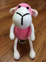 Hračky - Ružová ovečka =) - 9692810_