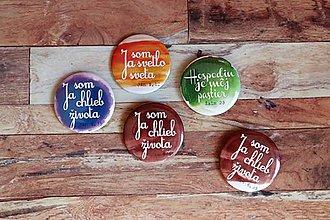 Odznaky/Brošne - odznak  (Ja som...) - 9693039_