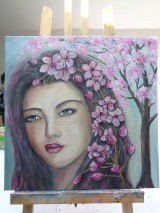 Obrazy - Miss Spring - 9692761_