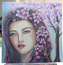 Obrazy - Miss Spring - 9692760_