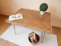 Nábytok - Retro konferenčný stolík (Retro coffee table) (2.) - 9693787_