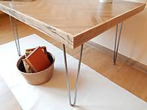 Nábytok - Retro konferenčný stolík (Retro coffee table) (2.) - 9693788_