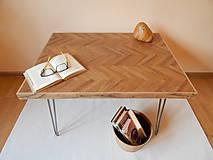 Nábytok - Retro konferenčný stolík (Retro coffee table) (2.) - 9693789_