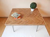Nábytok - Retro konferenčný stolík (Retro coffee table) (2.) - 9693794_