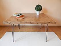 Nábytok - Retro konferenčný stolík (Retro coffee table) - 9693795_