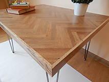 Nábytok - Retro konferenčný stolík (Retro coffee table) (2.) - 9693796_