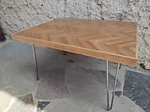 Nábytok - Retro konferenčný stolík (Retro coffee table) (2.) - 9693816_