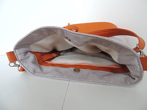 4bebff1485 Kabelka - Chloe Orange   desana - SAShE.sk - Handmade Kabelky