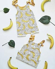 Detské oblečenie - Overal BIO Banana]Zľava - 25% - 9695687_