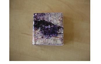 Papiernictvo - zápisník štvorcový fialový - 9695193_