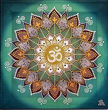 Obrazy - Mandala ÓM...Vesmírna posvätnosť - 9695254_