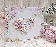 Papiernictvo - Svadobný fotoalbum - 9695406_