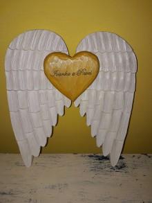Dekorácie - Krídla Anjela.. - 9695609_