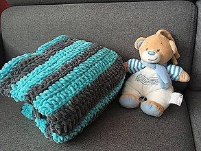 Textil - Detská deka Puffy (B) - 9695740_