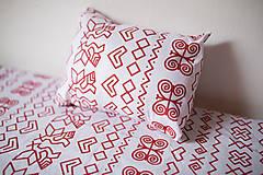 - bavlnené posteľné obliečky - čičmanský vzor - 9693957_