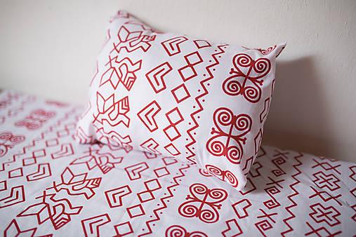 bavlnené posteľné obliečky - čičmanský vzor