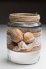 Svietidlá a sviečky - SVIETNIK - námornícky - 9695883_