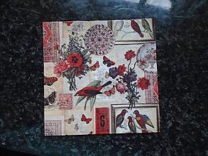 Papier - vtáčiky - 9693435_