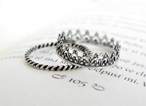 925 sada strieborných prsteňov Milady