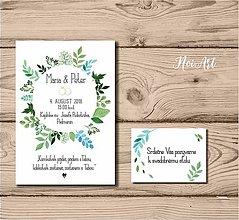 Papiernictvo - Svadobné oznámenie 52 - 9697419_