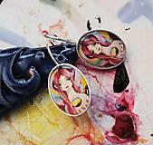 Náušnice - Bumpkinovej šperk/ Mystická - 9697366_