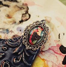 Prstene - Bumpkinovej šperk/ Purpurové rieky - 9697402_