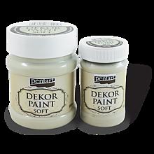 Farby-laky - Dekor paint soft , lišajníková, 500 ml - 9697165_