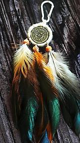 Dekorácie - Ķľúčenka Blíženci - 9698433_