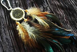 Dekorácie - Ķľúčenka Panna - 9698391_