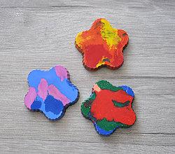 Hračky - Dúhové voskovky pre najmenších 3ks - 9696773_