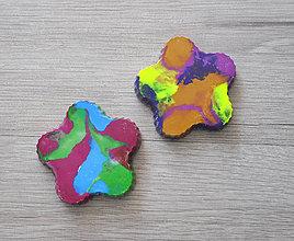 Hračky - Dúhové voskovky pre najmenších 2ks - 9696778_