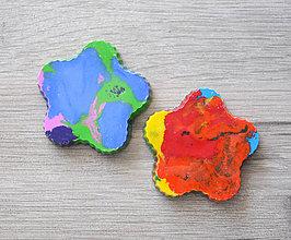 Hračky - Dúhové voskovky pre najmenších 2ks - 9696782_