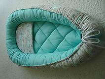 Textil - Hniezdo pre bábätko s macíkmi - 9698181_