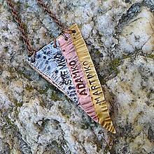 Sady šperkov - Prívesok s menami na želanie - 9696675_