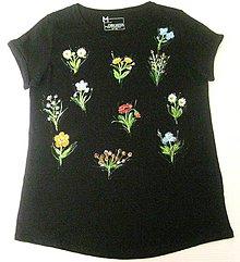 Tričká - Leto plné kvetov - 9696455_